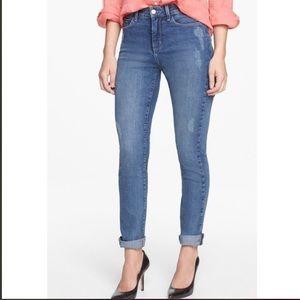NYDJ Lean Stretchy Skinny Boyfriend Jeans